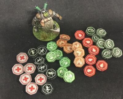 Guild Ball:  Status Effects
