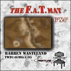 6'x4' Barren Wasteland F.A.T Mat