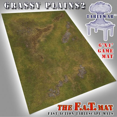 6'x4' Grassy Plains 2 F.A.T Mat