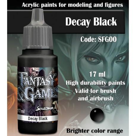Decay Black