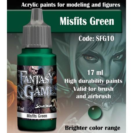 Misfits Green