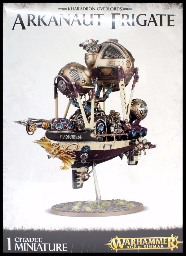 Kharadron Overlords: Arkanaut Frigate