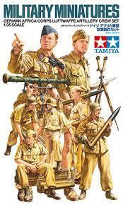Africa Luftwaffe Artillery Crew