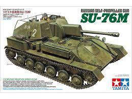 Russian Self Propelled Gun SU-76M