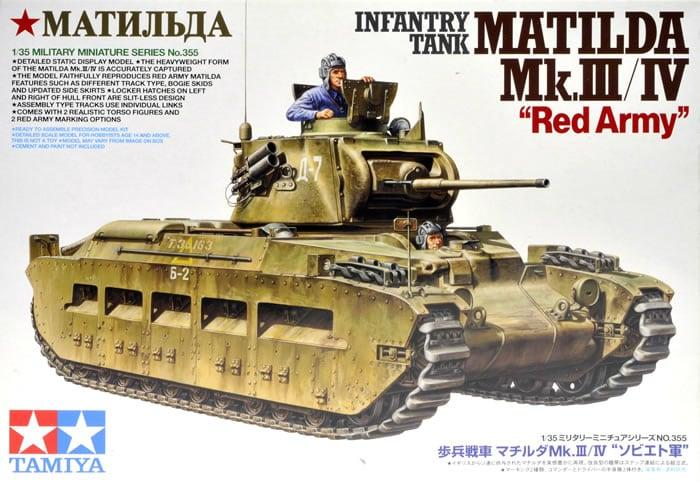 Matilda MKIII/IV Red Army Conversion