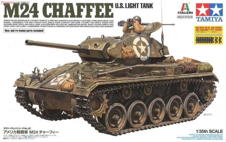 1/35 M24 Chaffee [italeri]
