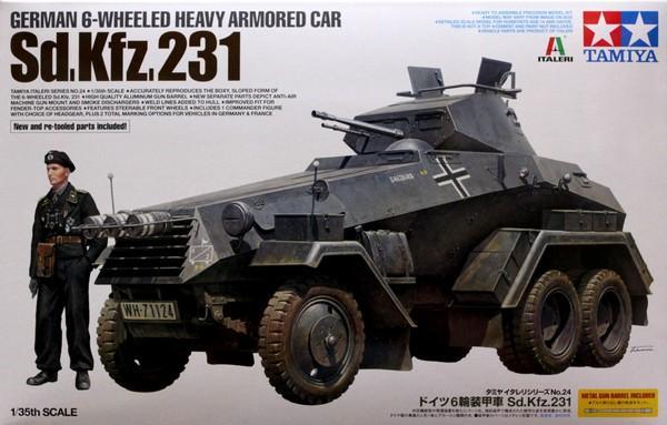 1/35 6 Wheel Sd.Kfz. 231