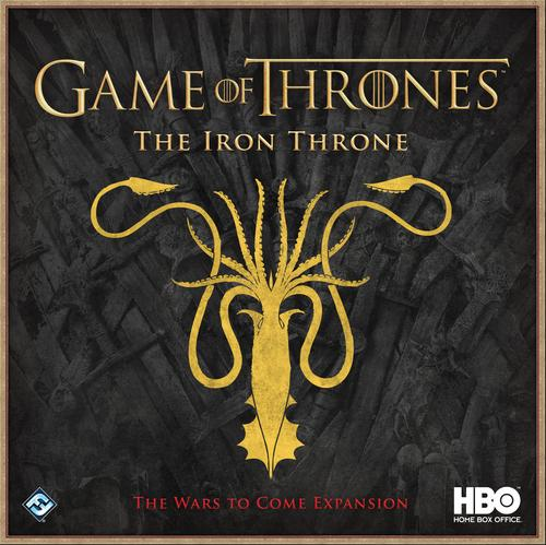 The Iron Throne: The Wars to Come Expansion: HBO Game of Thrones