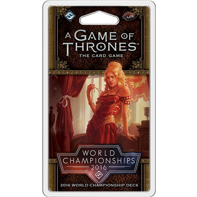 2016 World Championship Joust Deck: A Game of Thrones 2nd Edition