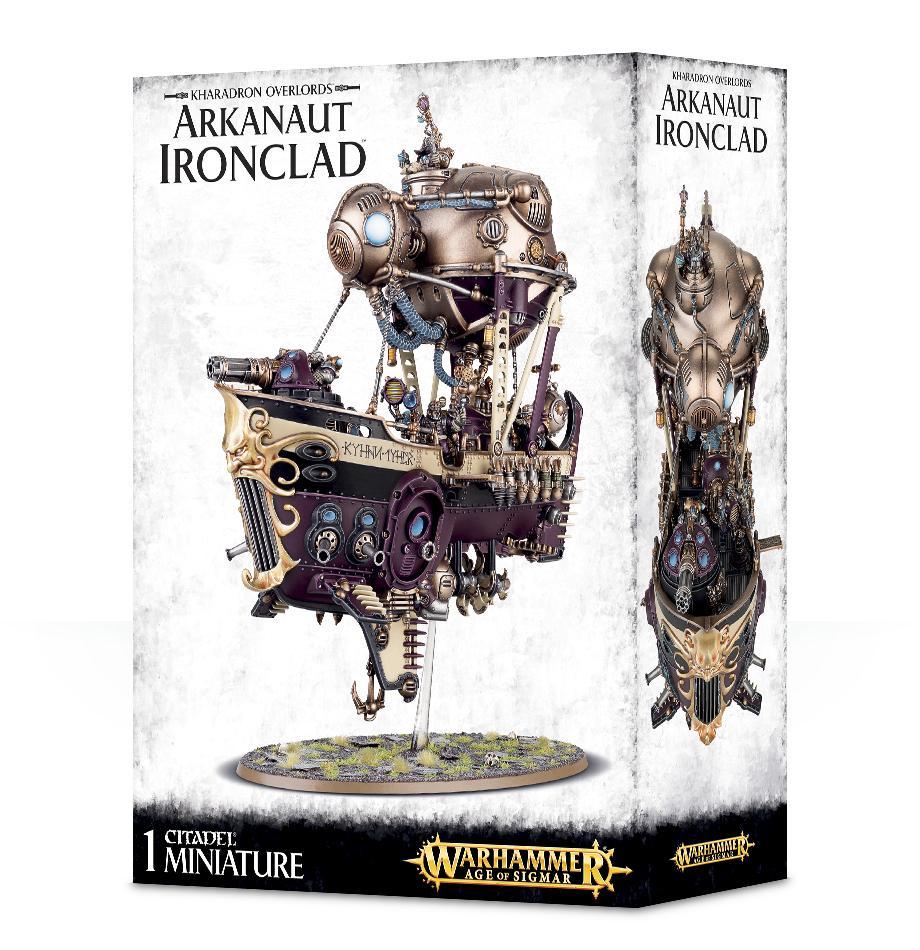 Kharadron Overlords: Arkanaut Ironclad