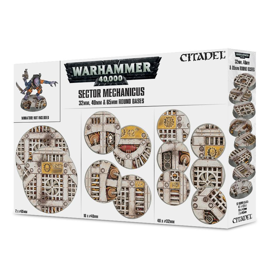 Sector Mechanicus: Industrial Bases