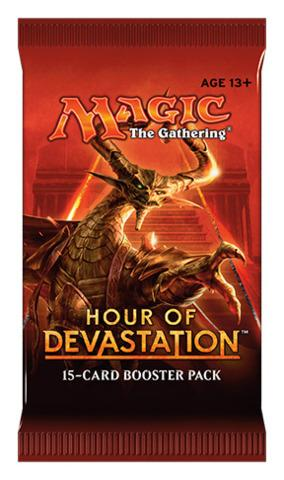 Magic: The Gathering - Hour of Devastation Single Booster