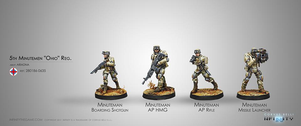 5th Minutemen Regiment Ohio