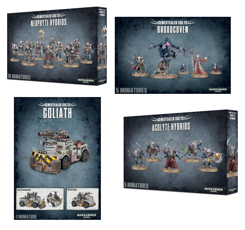 Genestealer Cults Starter Bundle