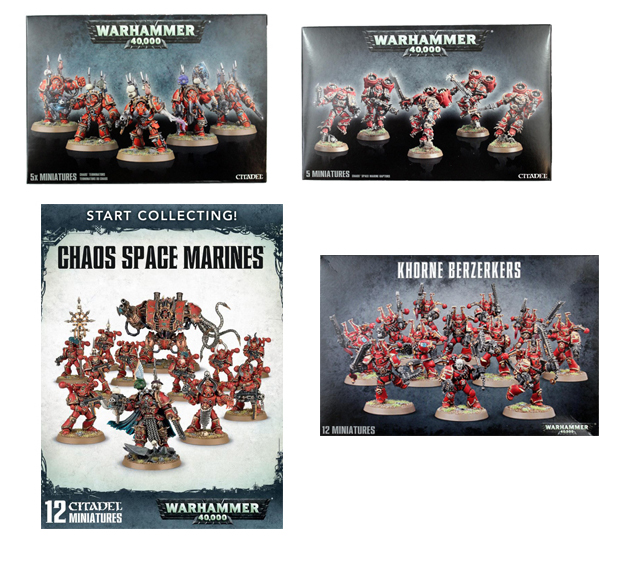 Chaos Space Marines Starter Bundle