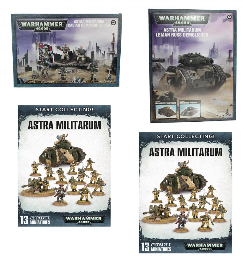 Astra Militarum Starter Bundle