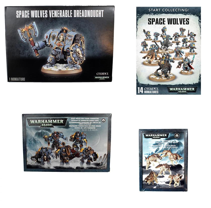 Space Wolves Starter Bundle