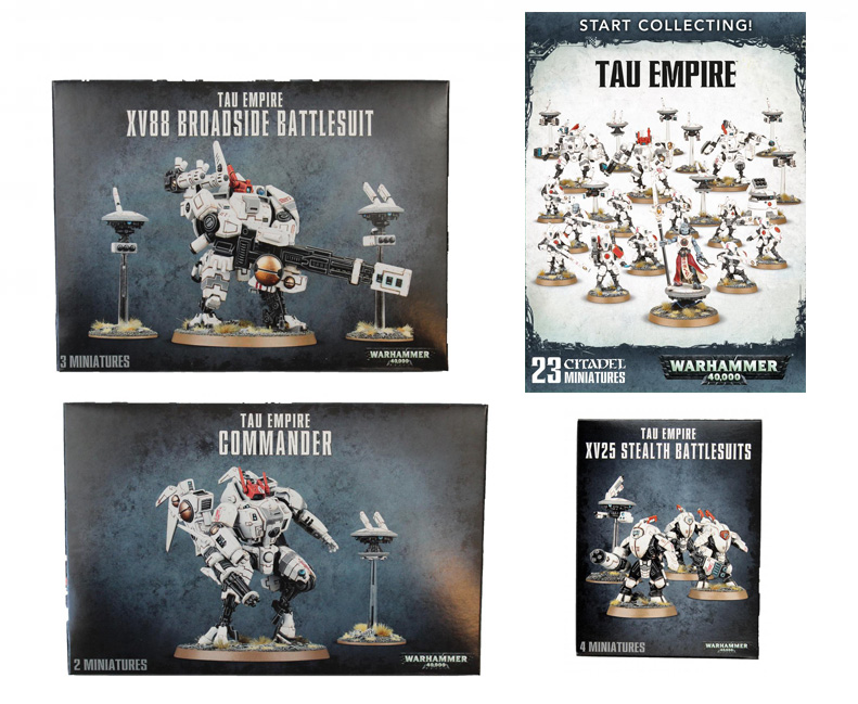 Tau Starter Bundle