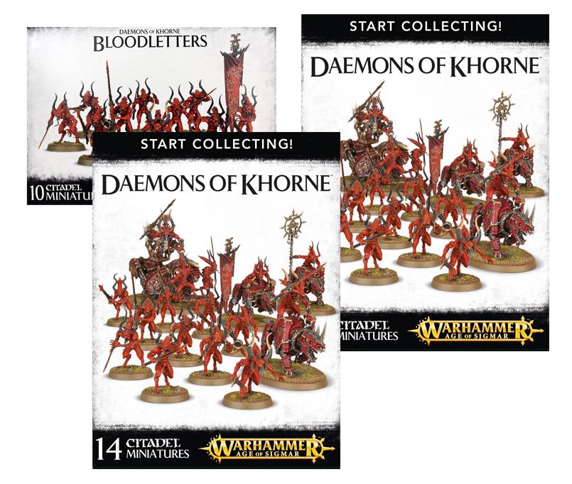 Daemons of Khorne Starter Bundle