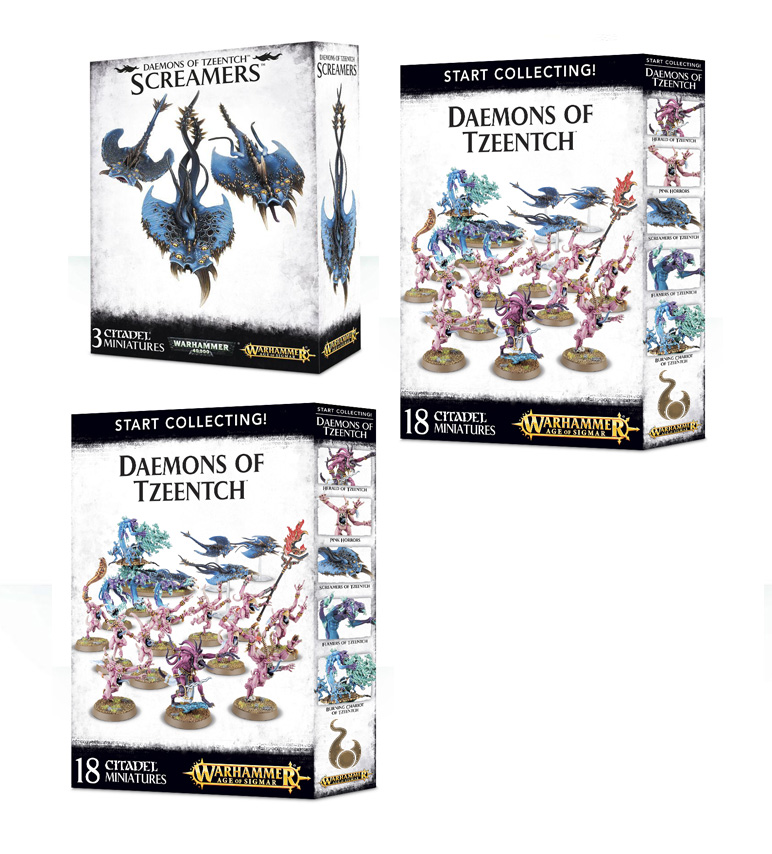 Daemons of Tzeentch Starter Bundle