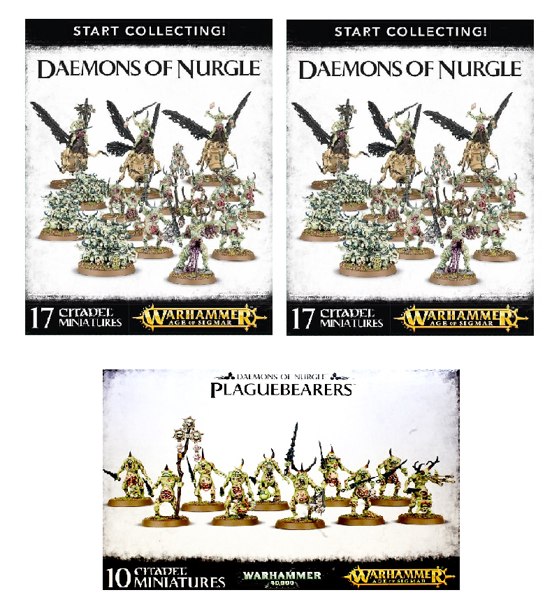 Daemons of Nurgle Starter Bundle
