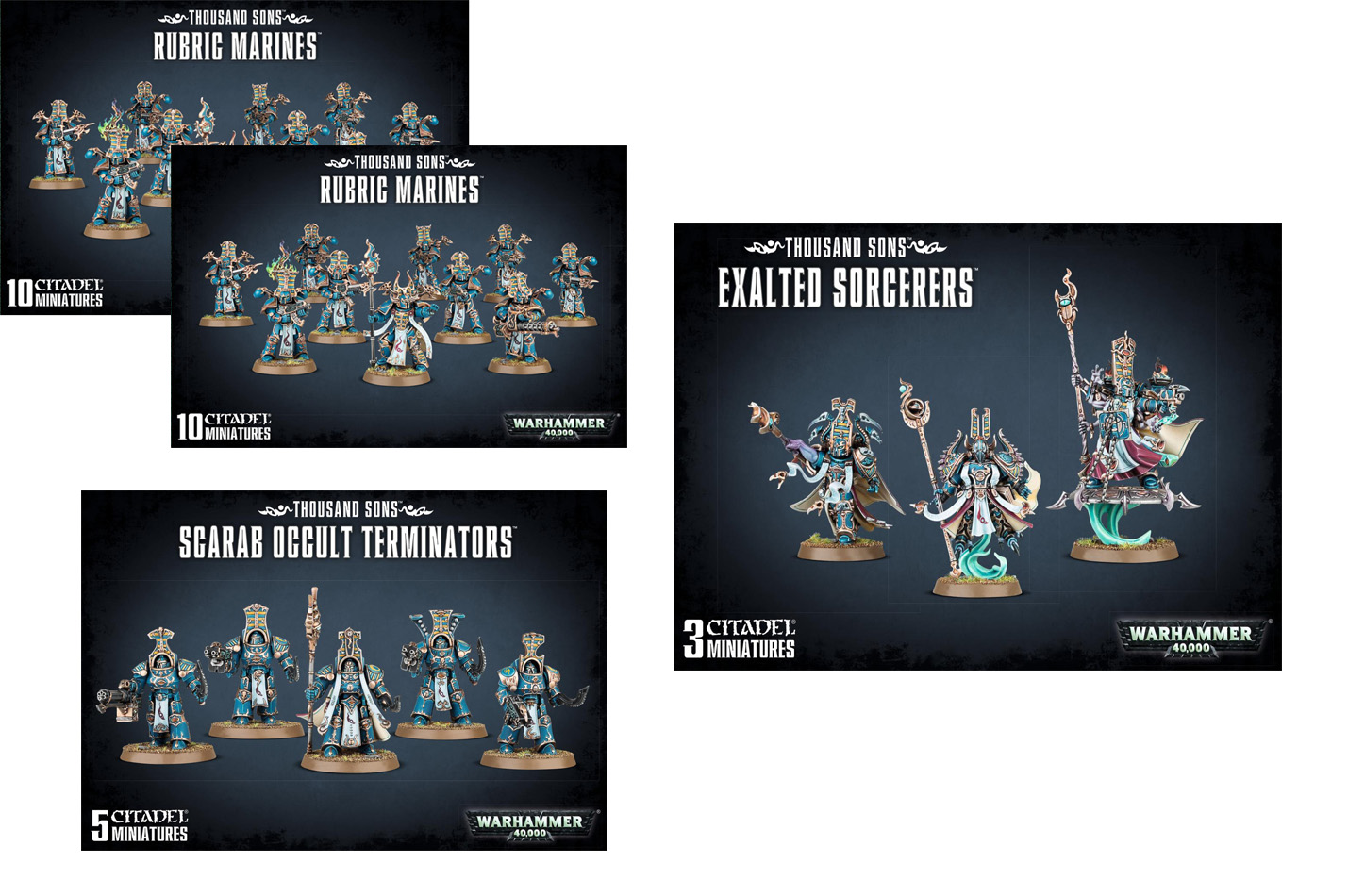 Thousand Sons Starter Bundle