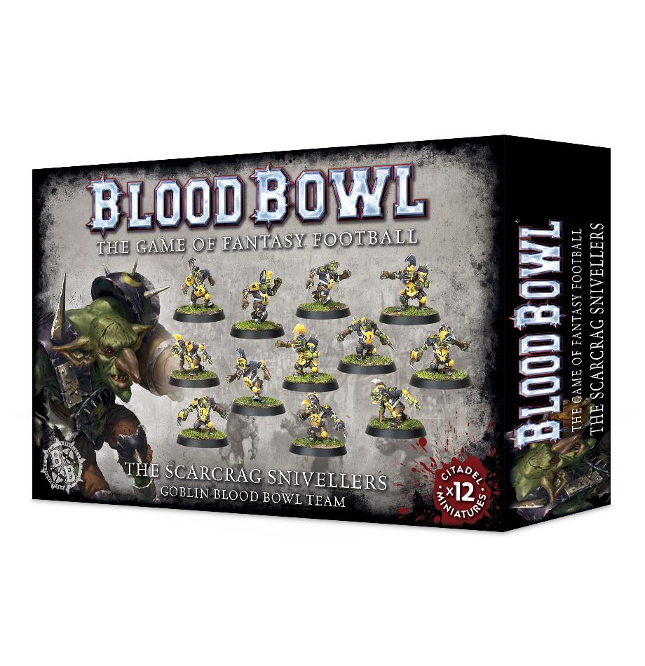 Blood Bowl Scarcrag Snivellers (Goblin Team)