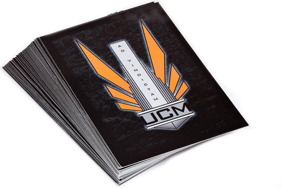 Dropfleet Commander UCM Command Cards (HDF-10004C)