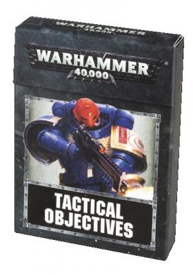 Warhammer 40,000 Tactical Objective Cards