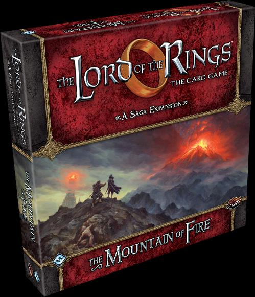 The Mountain of Fire Saga Expansion: LOTR LCG