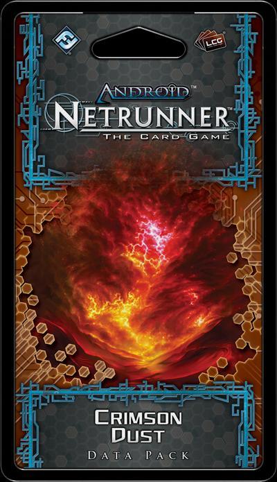 Crimson Dust Data Pack: Netrunner LCG Exp.