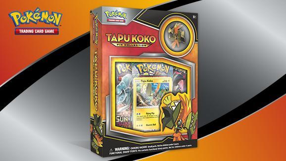 Tapu Koko Pin Collection: Pokemon TCG