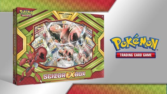 Scizor-EX Box: Pokemon TCG