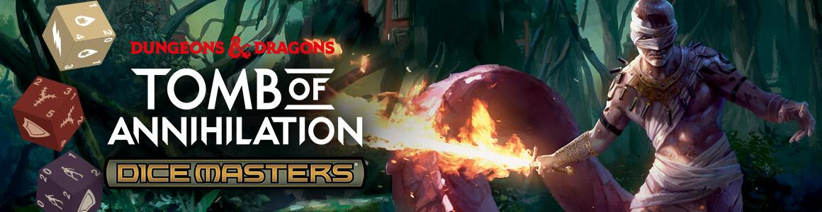 Tomb of Annihilation Draft Pack - Dungeons and Dragons Dice Masters