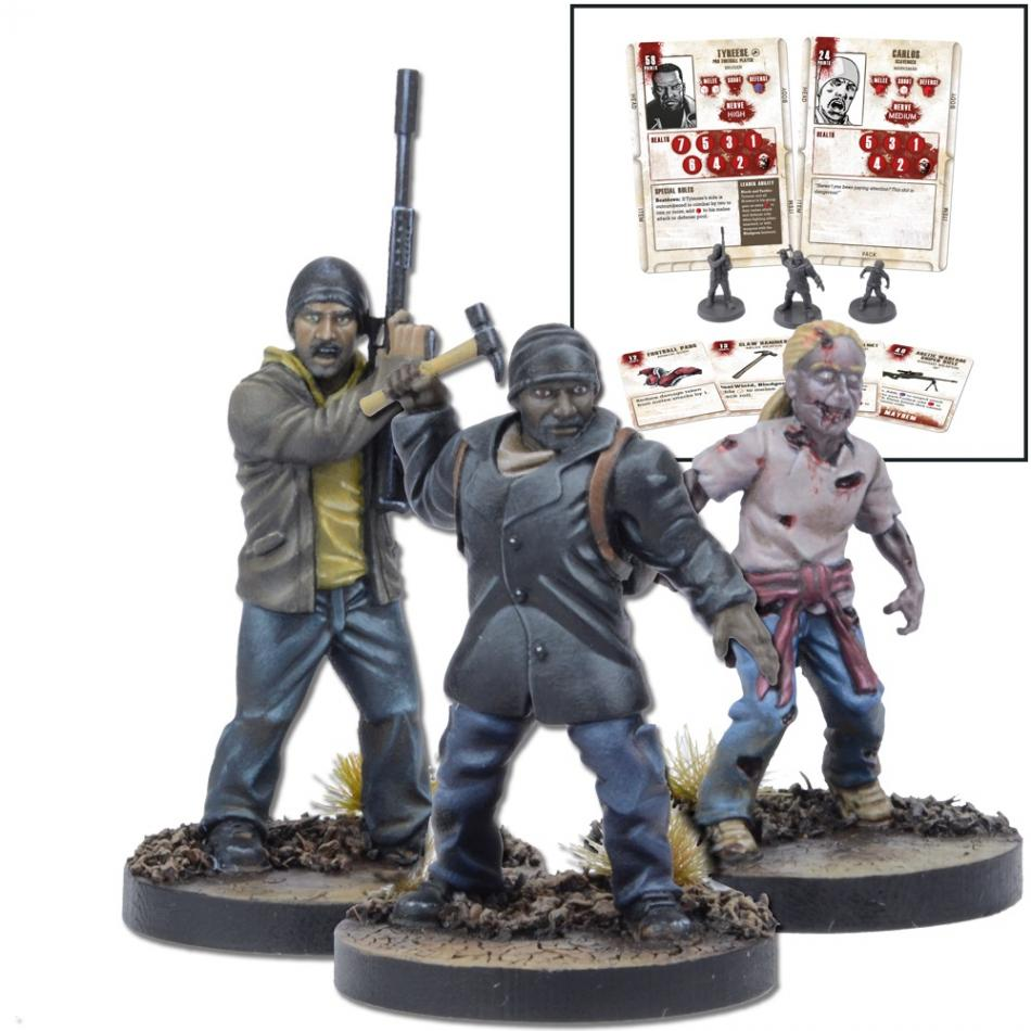 Miniatures Booster Tyreese (TWD)