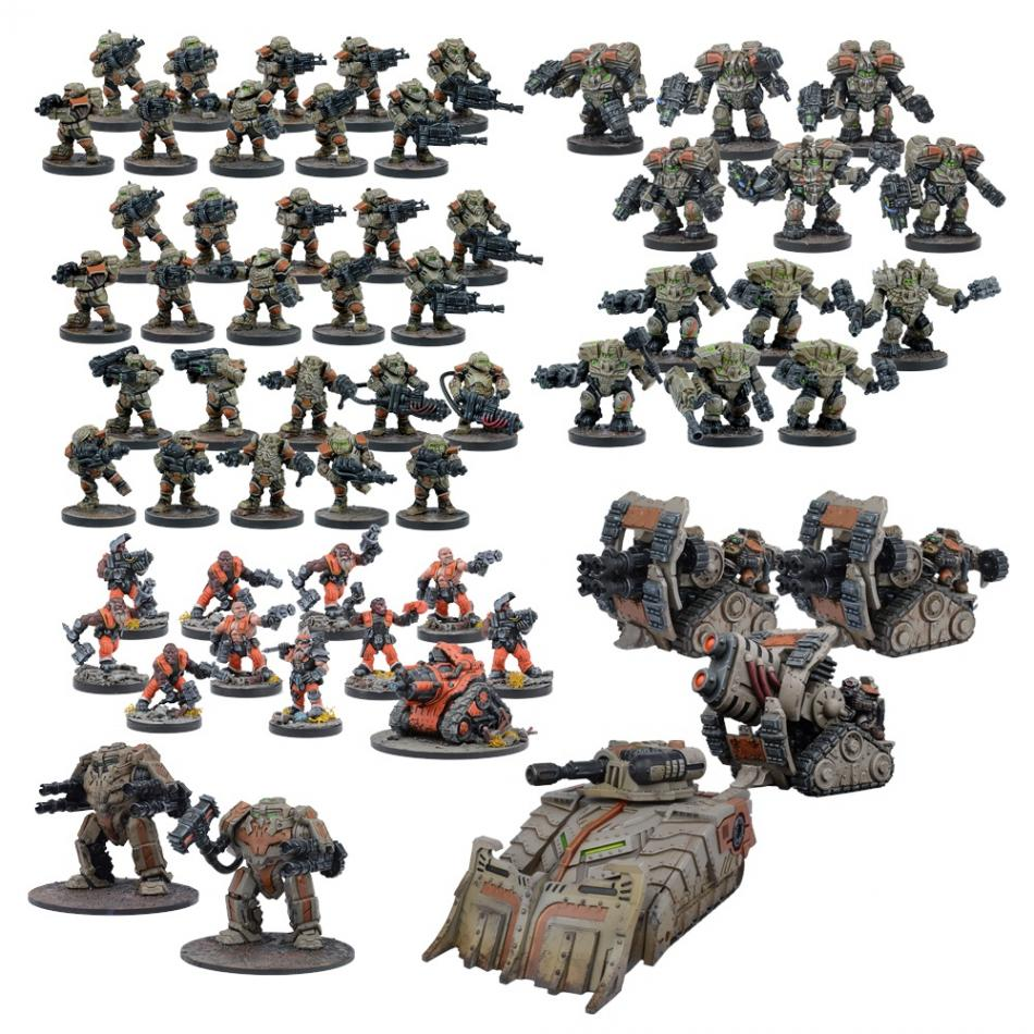 Warpath Forge Father Mega Force