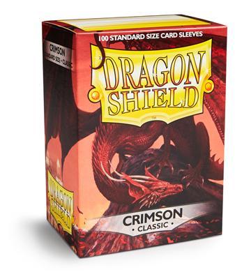Dragon Shield Sleeves Crimson (100)