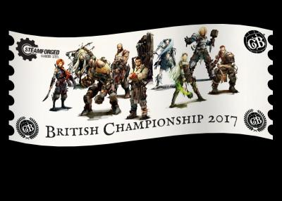 Guild Ball British Championship 2017 Ticket