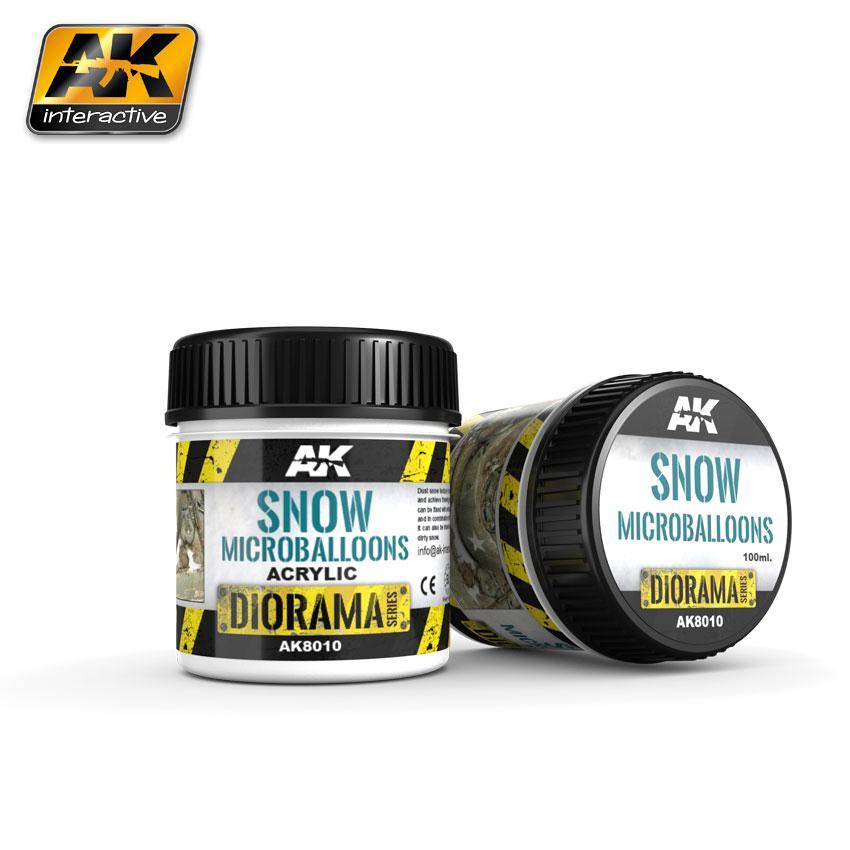 AK Interactive - Snow Microballoons 100ml.