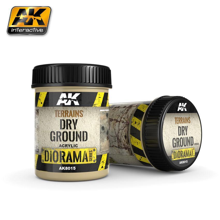 AK Interactive Terrain 250ml - Dry Ground