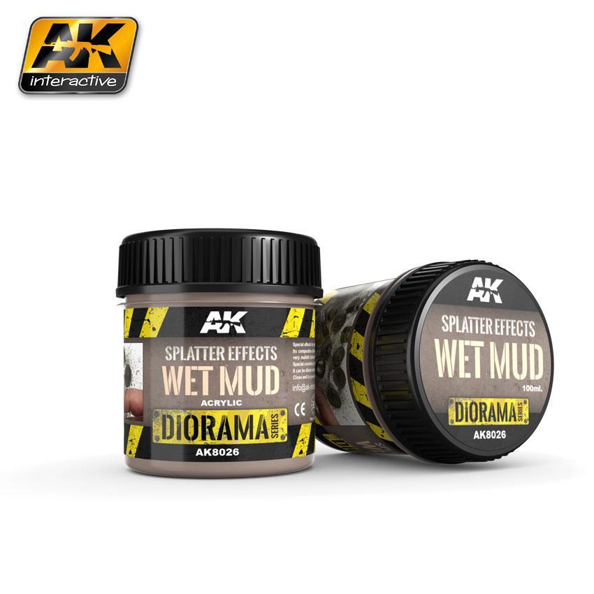 AK Interactive - Splatter Effects Wet Mud 100ml
