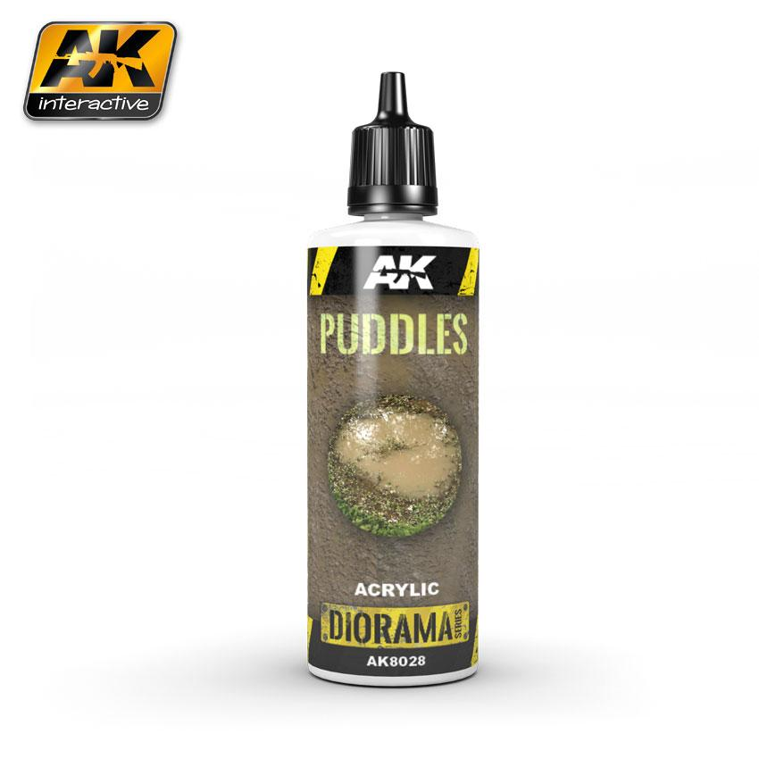 AK Interactive - Acrylic Puddles 60ml.