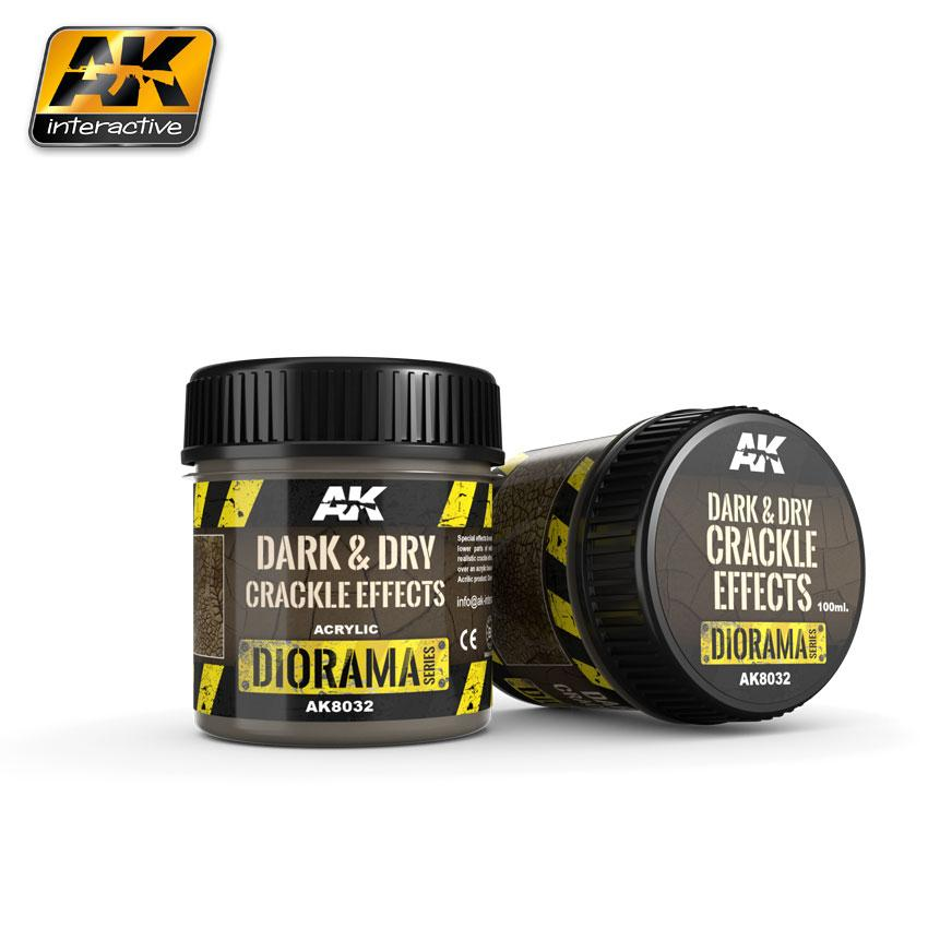 AK Interactive - Dry Crackle Effects 100ml.