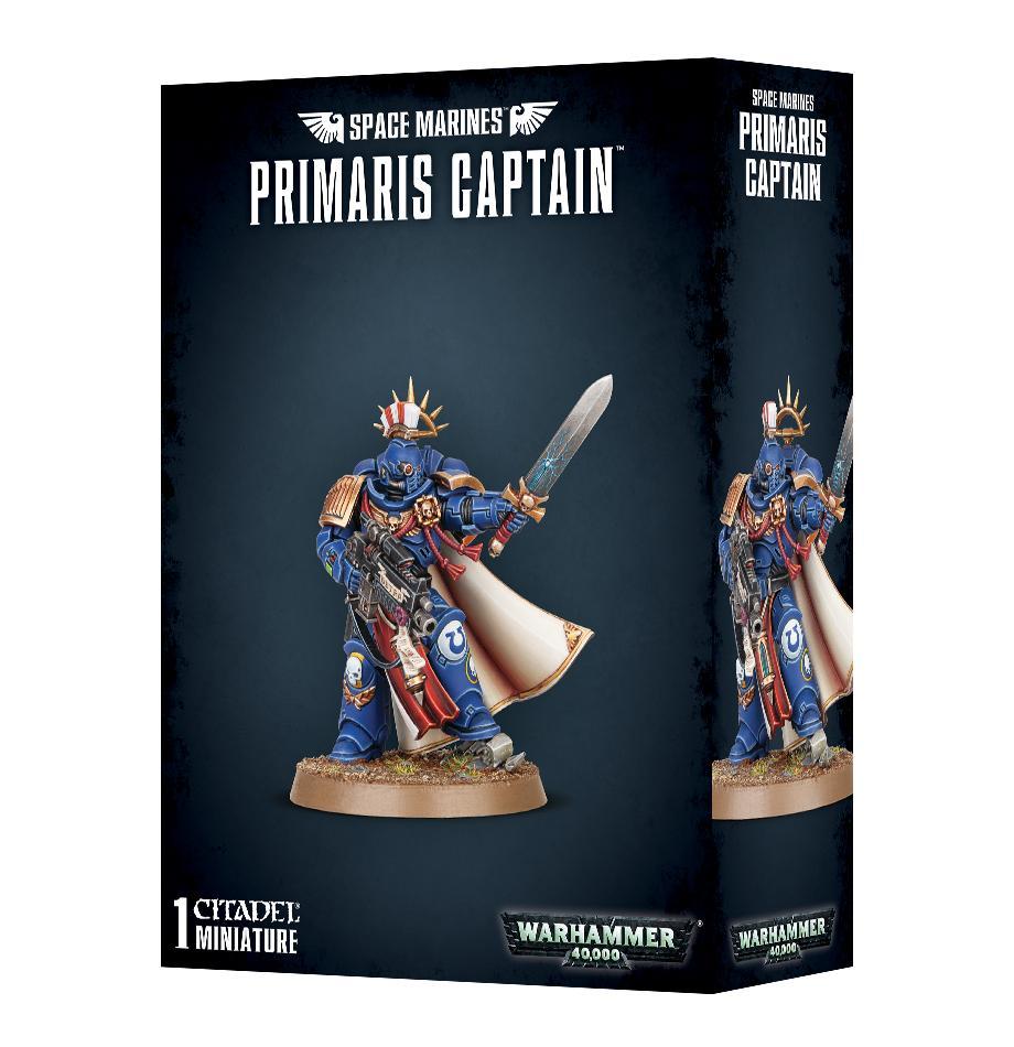 Space Marine Primaris Captain