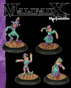 Marrionetts (4 pack) - Clamshell
