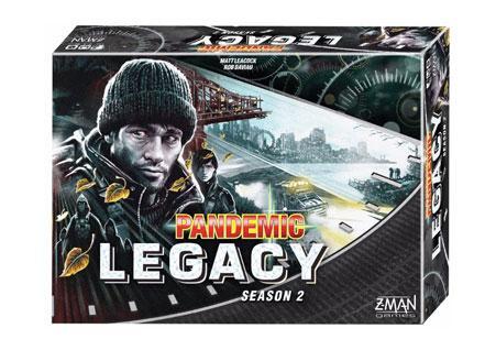 BLACK - Pandemic Legacy Season 2