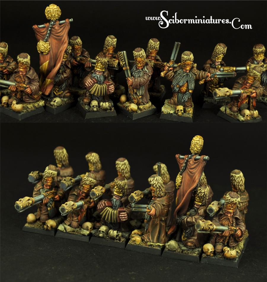 Strielecs Regiment 12 miniatures (12)