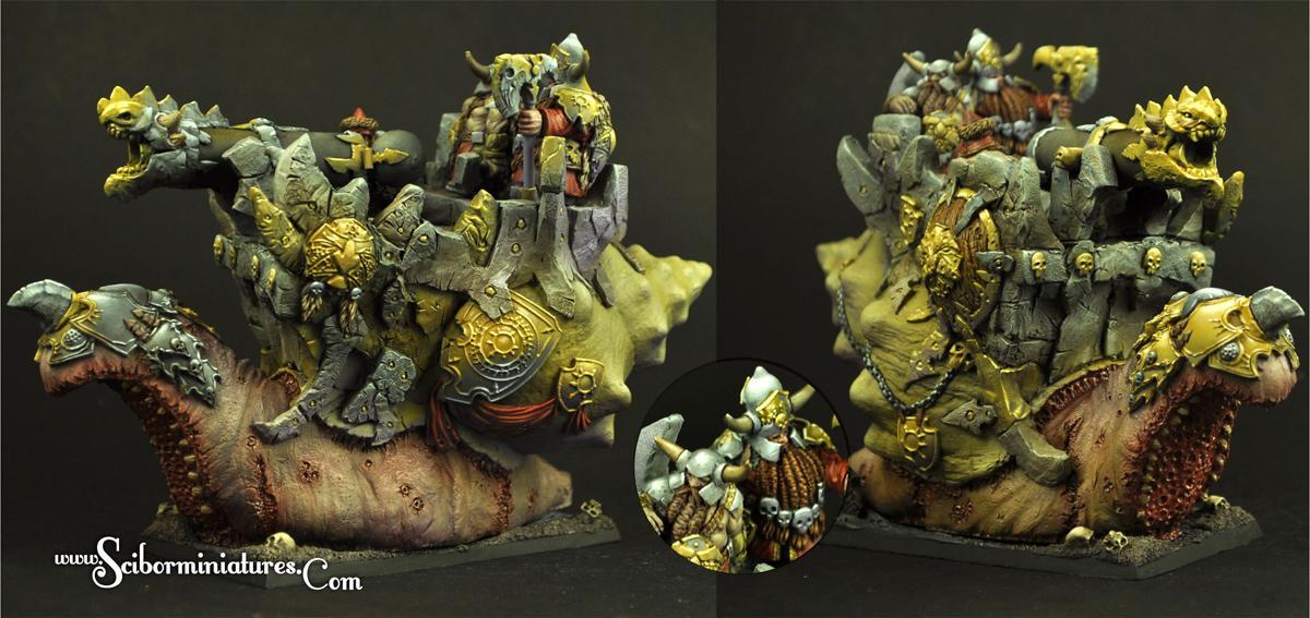 Evil Dwarves Snail Cannon