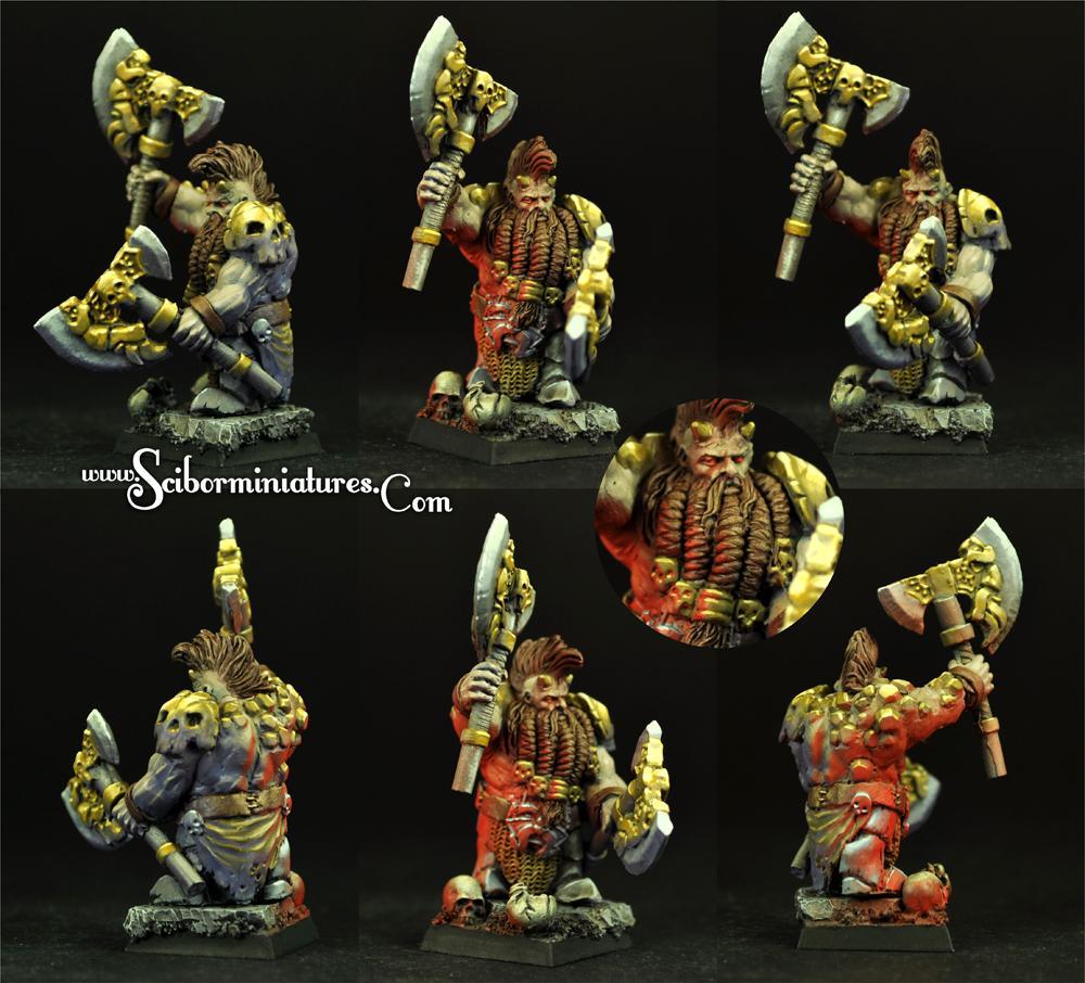 Furious Warrior #1