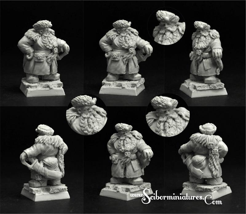 28mm/30mm Dwarf Nobleman #2